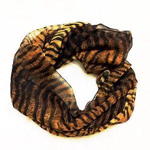 Gorgeous Animal Printed Long Scarf/ Tiger Stripes